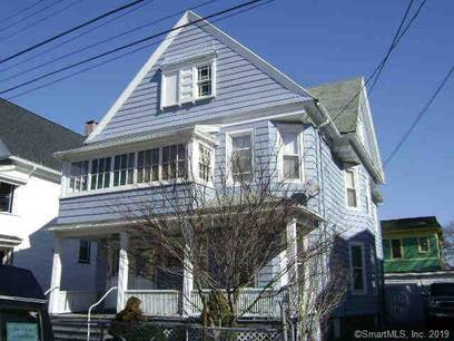 Short Sale: Multi Family Home Sold in Bridgeport CT 06608. Old  house near waterfront with 2 car garage.