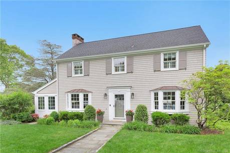 Single Family Home Sold in Darien CT 06820. Old colonial house near waterfront with 2 car garage.