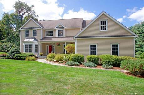 Single Family Home For Sale in Newtown CT 06470. Colonial house near waterfront with 3 car garage.