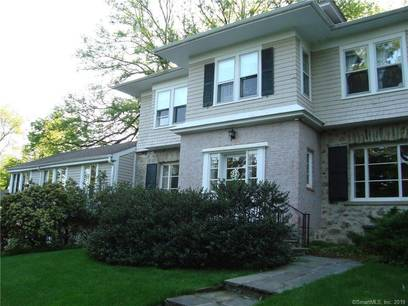 Single Family Home Sold in Greenwich CT 06830. Old colonial house near waterfront with swimming pool and 2 car garage.