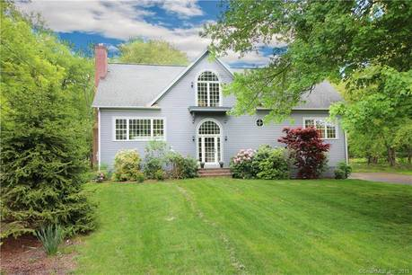 Single Family Home Sold in Westport CT 06880. Contemporary, colonial house near river side waterfront with 2 car garage.