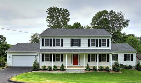 Single Family Home Sold in Monroe CT 06468. Colonial house near beach side waterfront with 2 car garage.