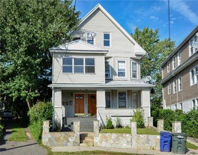 Multi Family Home Sold in Bridgeport CT 06605. Old  house near beach side waterfront with 2 car garage.