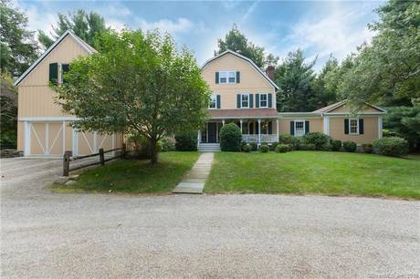 Single Family Home Sold in Darien CT 06820. Old colonial farm house near beach side waterfront with 2 car garage.