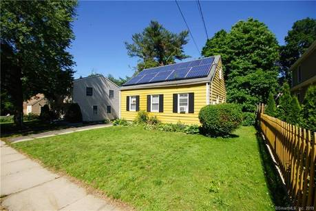 Single Family Home For Sale in Bridgeport CT 06610.  cape cod house near waterfront.