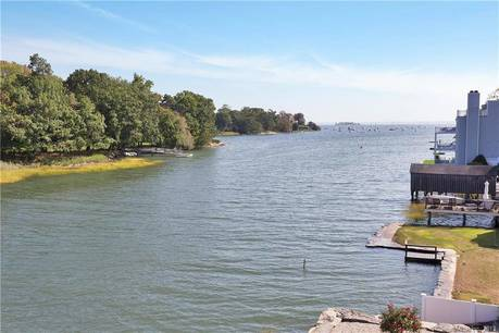 Luxury Condo Home For Sale in Greenwich CT 06830.  townhouse near waterfront with 1 car garage.