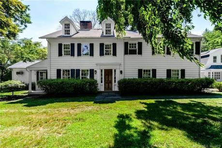 Single Family Home Sold in Wilton CT 06897. Old colonial, antique house near lake side waterfront with swimming pool and 2 car garage.