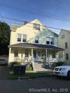 Multi Family Home For Sale in Bridgeport CT 06605. Old  house near beach side waterfront with 1 car garage.