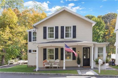 Single Family Home Sold in Darien CT 06820. Old colonial farm house near beach side waterfront with 3 car garage.