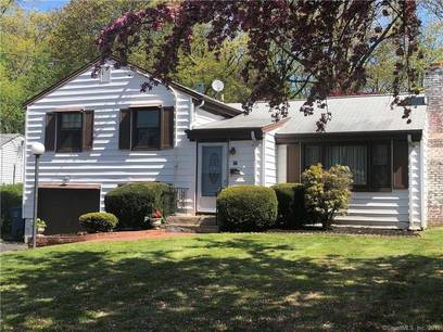 Single Family Home Sold in Bridgeport CT 06610.  house near waterfront with 1 car garage.