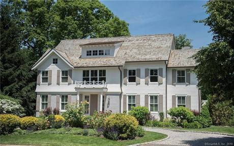 Single Family Home Sold in Stamford CT 06902. Colonial house near beach side waterfront with 2 car garage.