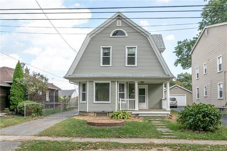 Single Family Home Sold in Stratford CT 06614. Old colonial house near beach side waterfront with 1 car garage.