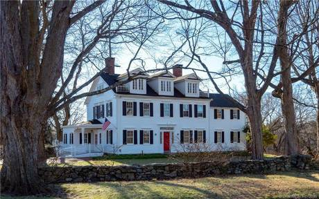 Single Family Home Sold in Weston CT 06883. Old colonial, antique house near beach side waterfront with swimming pool and 3 car garage.