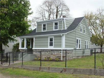 Single Family Home Sold in Bridgeport CT 06606.  cape cod house near waterfront.