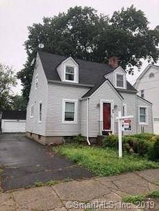 Single Family Home Sold in Bridgeport CT 06606. Old  cape cod house near waterfront with 2 car garage.