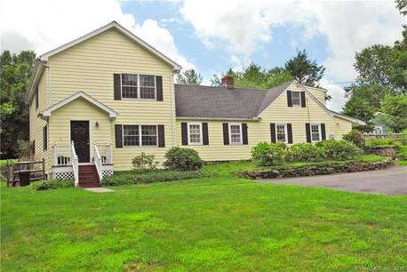 Single Family Home Sold in Westport CT 06880. Old colonial cape cod house near beach side waterfront with 2 car garage.