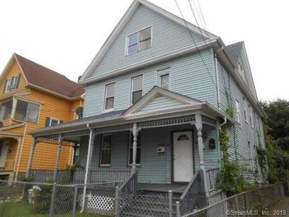 Foreclosure: Multi Family Home Sold in Bridgeport CT 06608. Old  house near waterfront with 2 car garage.