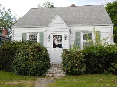 Single Family Home Sold in Stratford CT 06614.  cape cod house near waterfront with 2 car garage.