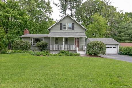 Single Family Home Sold in Stratford CT 06614.  cape cod, farm house near river side waterfront with 2 car garage.