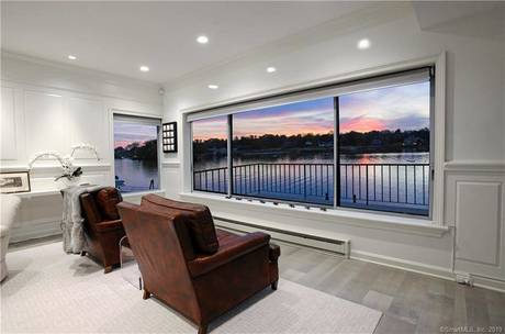 Luxury Cooperative Home Sold in Greenwich CT 06830.  townhouse near waterfront with 2 car garage.