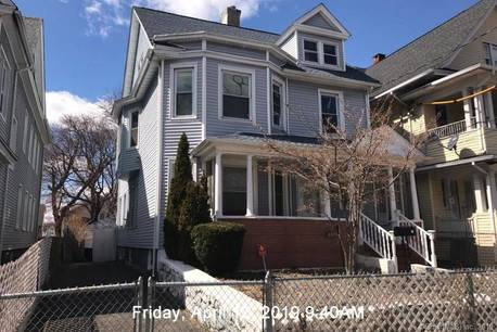 Foreclosure: Single Family Home Sold in Bridgeport CT 06605. Old colonial house near waterfront with 1 car garage.