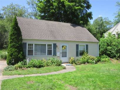 Single Family Home For Sale in Bethel CT 06801.  cape cod house near waterfront.