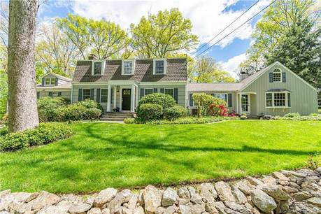 Single Family Home Sold in Weston CT 06883. Colonial farm house near beach side waterfront with 2 car garage.