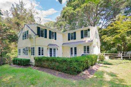 Single Family Home Sold in Weston CT 06883. Colonial cape cod house near waterfront with swimming pool and 2 car garage.