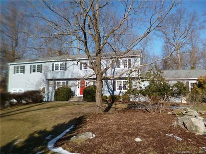 Single Family Home For Sale in Westport CT 06880. Colonial house near beach side waterfront with 3 car garage.