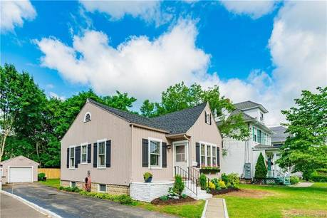 Single Family Home Sold in Norwalk CT 06851. Old  bungalow house near beach side waterfront with 1 car garage.