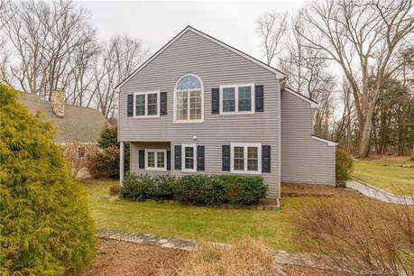 Single Family Home Sold in Brookfield CT 06804. Old colonial cottage house near beach side waterfront.