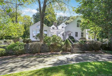 Single Family Home Sold in Westport CT 06880. Colonial cape cod house near beach side waterfront with 2 car garage.