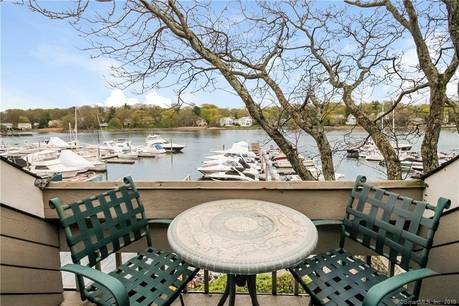 Condo Home Sold in Greenwich CT 06807.  townhouse near river side waterfront with 1 car garage.