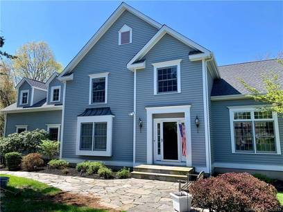 Single Family Home Sold in Shelton CT 06484. Colonial house near river side waterfront with 2 car garage.