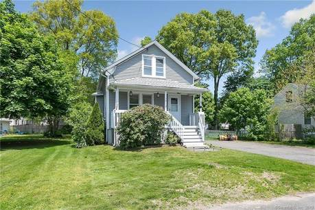Single Family Home Sold in Stratford CT 06614. Old  bungalow, cape cod house near beach side waterfront.