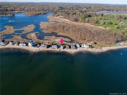 Single Family Home Sold in Westport CT 06880. Old colonial house near beach side waterfront.