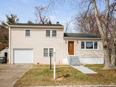 Single Family Home Sold in Bridgeport CT 06606.  house near waterfront with 1 car garage.