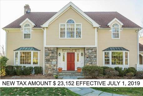 Single Family Home Sold in Wilton CT 06897. Colonial house near waterfront with swimming pool and 3 car garage.