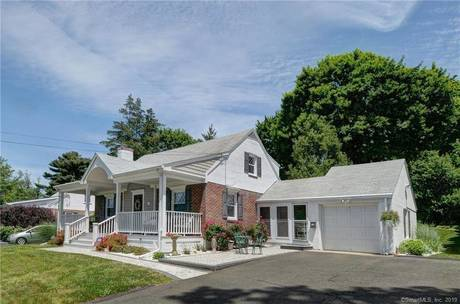 Single Family Home Sold in Bridgeport CT 06605.  cape cod house near beach side waterfront with 1 car garage.