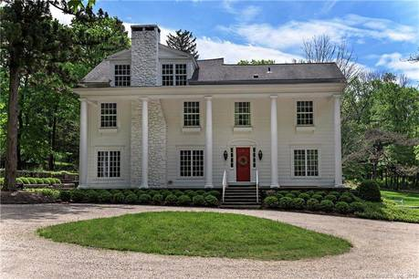 Mansion Sold in Ridgefield CT 06877. Old colonial farm house near lake side waterfront with 3 car garage.