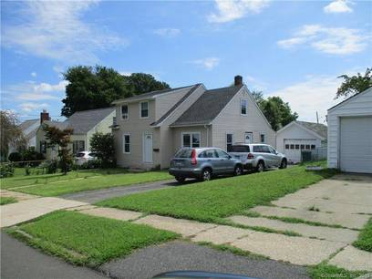 Short Sale: Single Family Home Sold in Bridgeport CT 06606.  cape cod house near waterfront with 1 car garage.