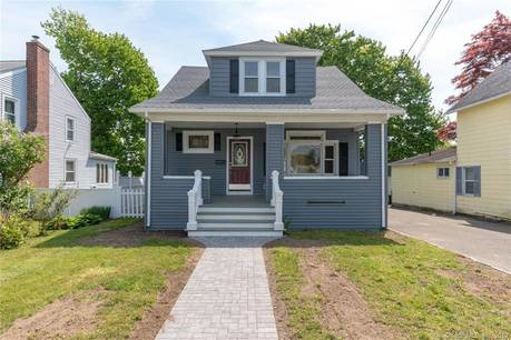 Single Family Home Sold in Stratford CT 06614. Old  cape cod house near waterfront with 1 car garage.