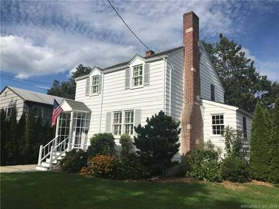 Single Family Home Sold in Fairfield CT 06824. Old colonial house near beach side waterfront with 1 car garage.