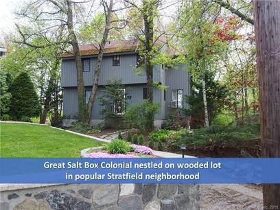 Single Family Home Sold in Fairfield CT 06825. Contemporary house near waterfront.