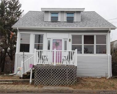 Single Family Home Sold in Stratford CT 06615. Old  cape cod house near waterfront with 1 car garage.