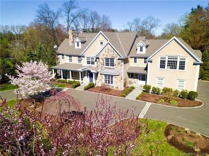 Mansion Sold in New Canaan CT 06840. Big colonial house near waterfront with 3 car garage.