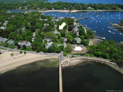 Luxury Single Family Home Sold in Darien CT 06820. Colonial house near beach side waterfront with 2 car garage.