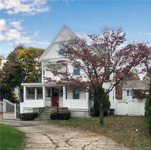 Single Family Home Sold in Greenwich CT 06807. Old victorian house near waterfront with 3 car garage.
