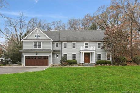 Single Family Home For Rent in Greenwich CT 06807. Colonial house near waterfront with 2 car garage.