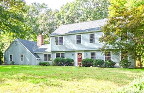Single Family Home Sold in Wilton CT 06897. Colonial house near river side waterfront with 2 car garage.